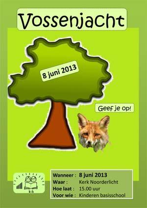 Vossenjacht poster